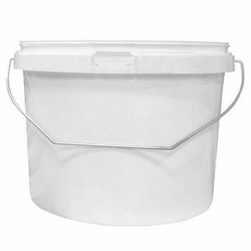 Cromar 5 Litre White Plastic Tub (No lids required)