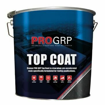 PRO GRP Topcoat  Dark Grey Fire Retardant 10kg