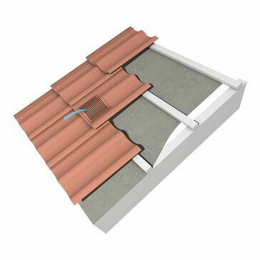 Marley Contour In Line Vents Tile