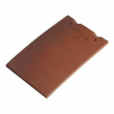 Marley Hawkins Clay Plain Roof Tile - Pack of 12