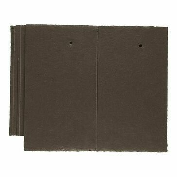 Marley Ashmore Interlocking Double Plain Concrete Roof Tile - Pack of 6