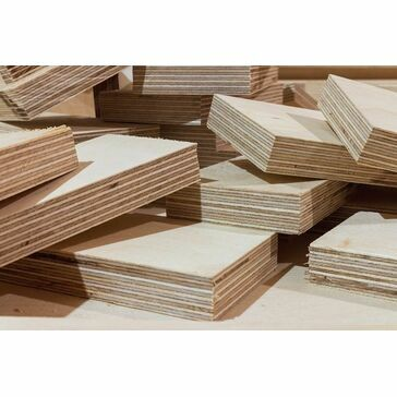 2440 x 1220 x 3.6mm Ext Hardwood Faced Poplar Core Chinese Plywood FSC