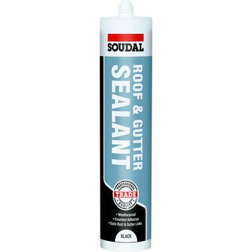 Soudal Roof & Gutter Sealant - Box of 12 (121656)