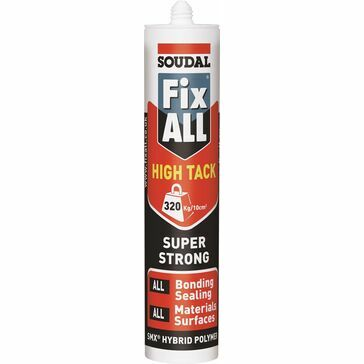 Soudal Fix ALL High Tack (White) - Box of 12