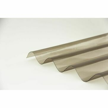 Ventura - Bronze CorruPVC Corrugated Sheet 2000mm x 1000mm x 0.7mm