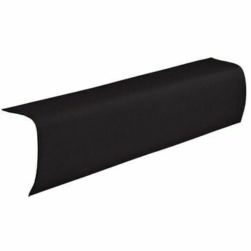 Ventura - Black Corrugated Bitumen Edge Piece 1000mm x 330mm