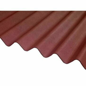 Ventura - Red Corrugated Bitumen Sheet 2000mm X 930mm