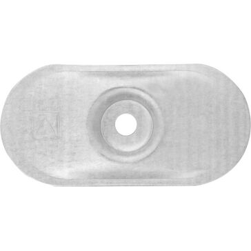 Rawlplug 82mm x 40mm x 7.0mm oval flat surface pressure plate - Box of 100