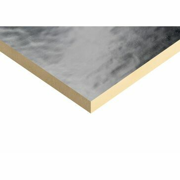 Kingspan Thermaroof TR26 Insulation Board - 2400mm x 1200mm x 25mm (12 Sheets)