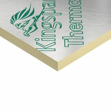 Kingspan Thermapitch TP10 Warm Roof Insulation Board - 2400mm x 1200mm x 130mm