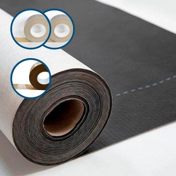 Novia Black Roof & Wall Breather Membrane DIY Kit - 50m x 1.5m