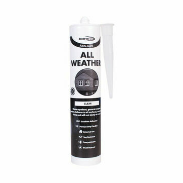 Bond It Rain-Mate All Weather Sealant EU3 (Clear) - Box of 12