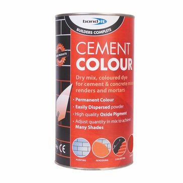 Bond It Powdered Cement Dye (Red) - 1kg (Box of 6)