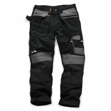 Scruffs 3D Trade Work Trousers (Black)