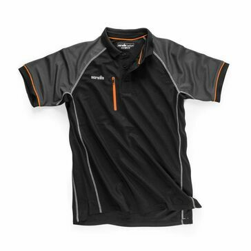 Scruffs Trade Active Polo (Black)