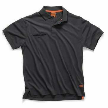 Scruffs Worker Polo - Graphite