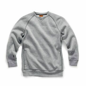 Scruffs Trade Sweatshirt (Grey Marl)