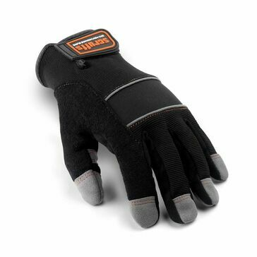 Scruffs Max Performance Full Gloves - Size 10 (Black/Grey)