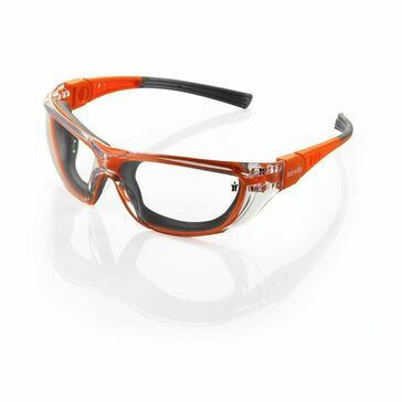 Scruffs T52175 Falcon Safety Glasses (Orange)