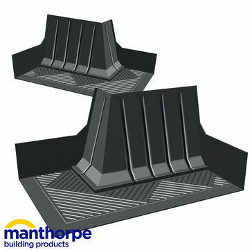 Manthorpe GW293CC RH Corner Catchment Cavity Trays  - Pack of 25
