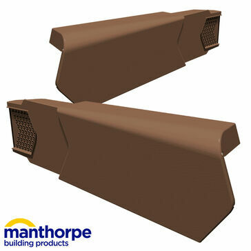 Manthorpe uPVC Dry Verge Unit Left Hand - Pack of 50