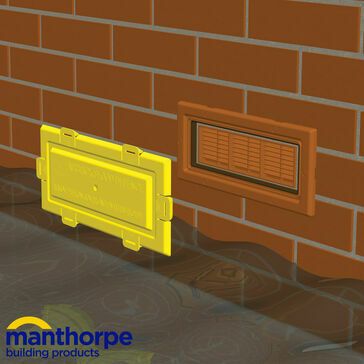 Manthorpe G980 Airbrick Flood Defence - Pack of 10