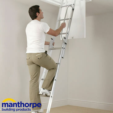 Manthorpe GLL256-GLL257 Multi-Section Loft Ladder