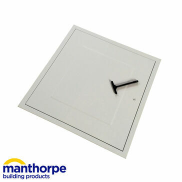 Manthorpe GL270F-GL271F Insulated Fire Rated Steel Loft Hatch - 580mm x 580mm