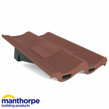 Manthorpe GTV-DP Double Pantile Roof Vent - Antique Red