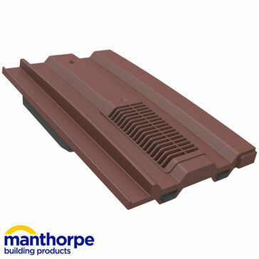 Manthorpe GTV-MC Mini Castellated Vent - Antique Red