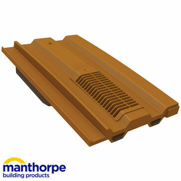 Manthorpe GTV-MC Mini Castellated Vent - Terracotta