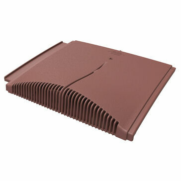 Manthorpe GTV-IP Interlocking Plain Tile Vent - Antique Red