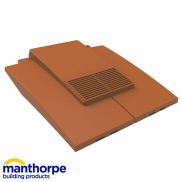 Manthorpe GTV-PT Plain Tile Vent - Terracotta