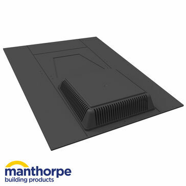 Manthorpe GRSV45 Hooded Random Slate Roof Vent