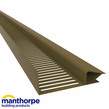 Manthorpe G825 25mm Soffit Vent Strips - Pack of 10