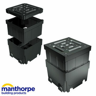 Manthorpe GPDST-JU-6 SlotDrain Junction Unit - Pack of 6
