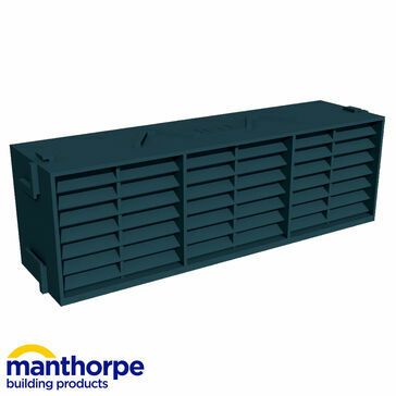 Manthorpe G930 Airbrick Vent - Blue/Black - Pack of 20