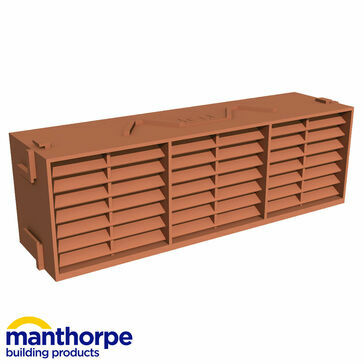 Manthorpe G930 Airbrick Vent - Terracotta - Pack of 20