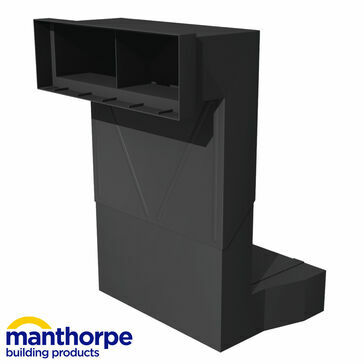 Manthorpe G960 Telescopic Underfloor Void Ventilator - Pack of 20