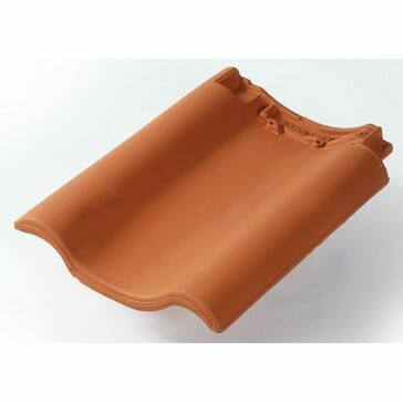 HOLLANDER LH VERGE TILE Terracotta