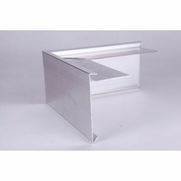 Aluminium Roof Edge Trim - 200mm x 200mm x 100mm
