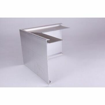 Aluminium Roof Edge Trim - 200mm x 200mm x 150mm