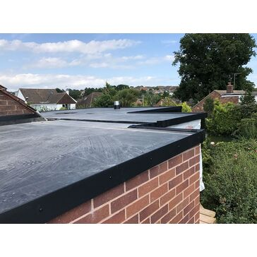 Rubberseal Styrene Upstand Flat Roof Kerb Trim