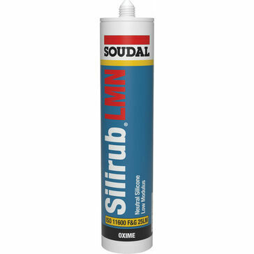 Soudal Silirub LMN Sealant (300ml) - Brilliant White