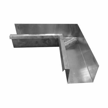 Stainless Large Box Corner - 135º Internal