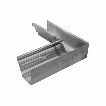 Stainless Large Ogee Corner - 135º Internal