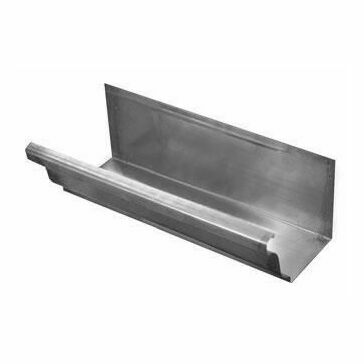 Stainless Large Ogee Gutter - 152mm x 130mm x 2400mm