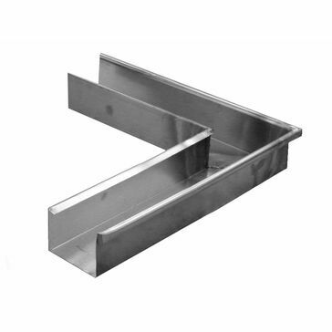 Zinc Large Box Corner - 135º External - 120mm x 90mm