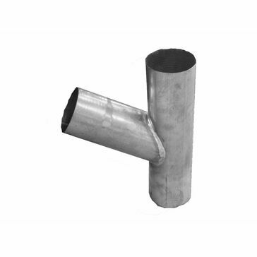 Zinc 80 ø Downpipe - Branch