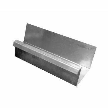 Zinc Large Box Gutter - 2400mm Length
